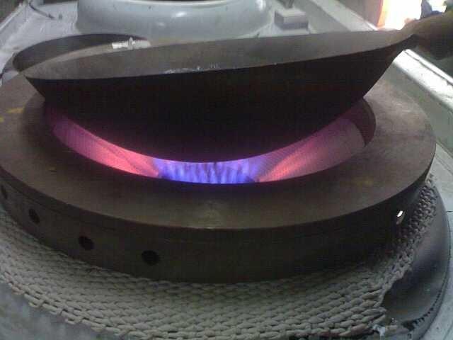 科诺系列预混式红外线余火回收再利用三合一商用节能炉头节能灶节能4