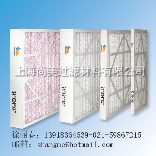 纸框折叠式过滤网
