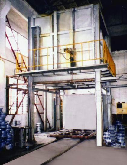 铝合金淬火炉(铝合金工业炉)