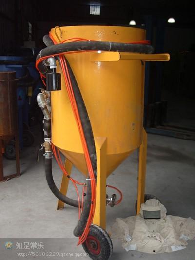 供应加压移动式喷砂机