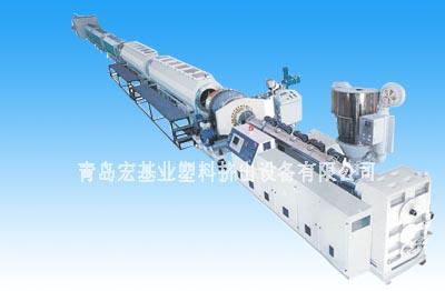 PPR、PP、PE塑料管材生产线