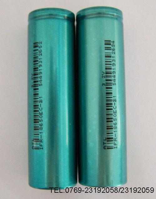 2v磷酸铁锂圆柱型充电电池
