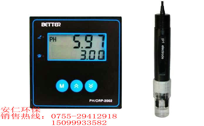 台湾BETTER酸度计PH计PH/ORP-2002经济型
