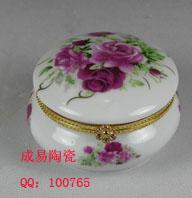 圆形首饰盒