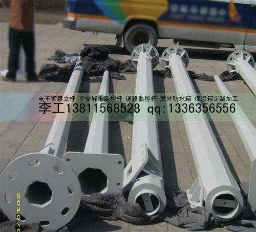 北京专业监控立杆摄像机立杆道路监控杆生产厂家质量可靠让您放心