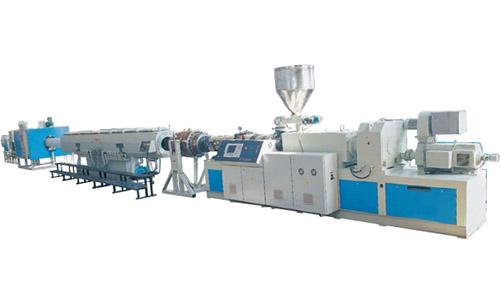 中塑机械主打产品-PVC塑料管材生产设备