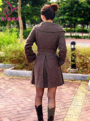 虎门服装棉衣外套批发,毛领羊绒大衣批发,高领打底衫批发