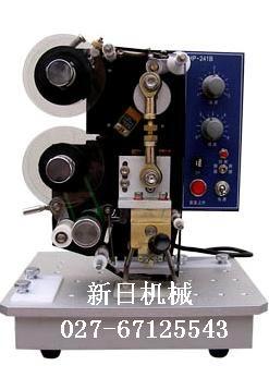 武汉标签打码机=湖北自动色带打码机=蒸馏消毒印码机