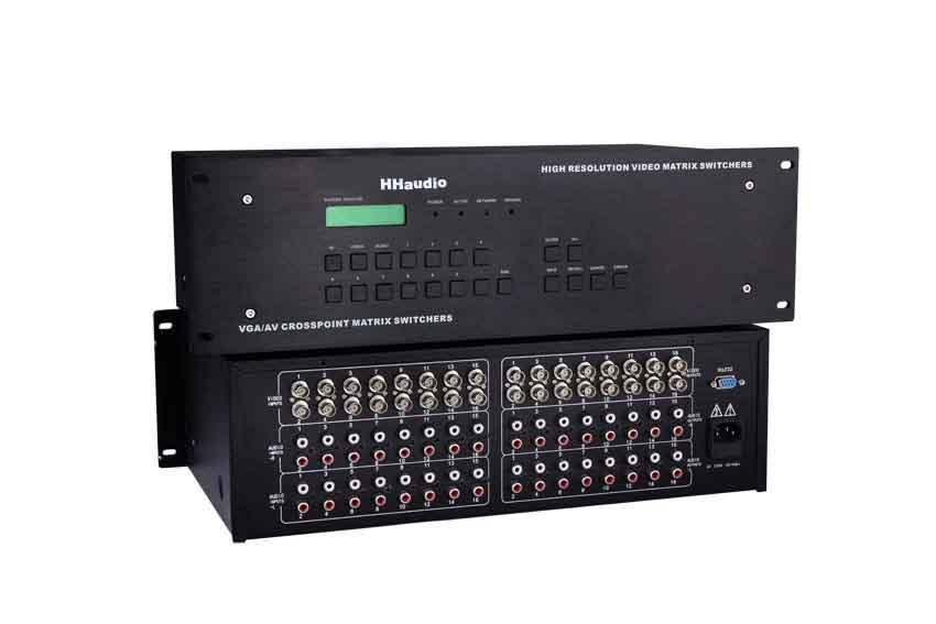 HHAUDIO音视频矩阵切换器系列