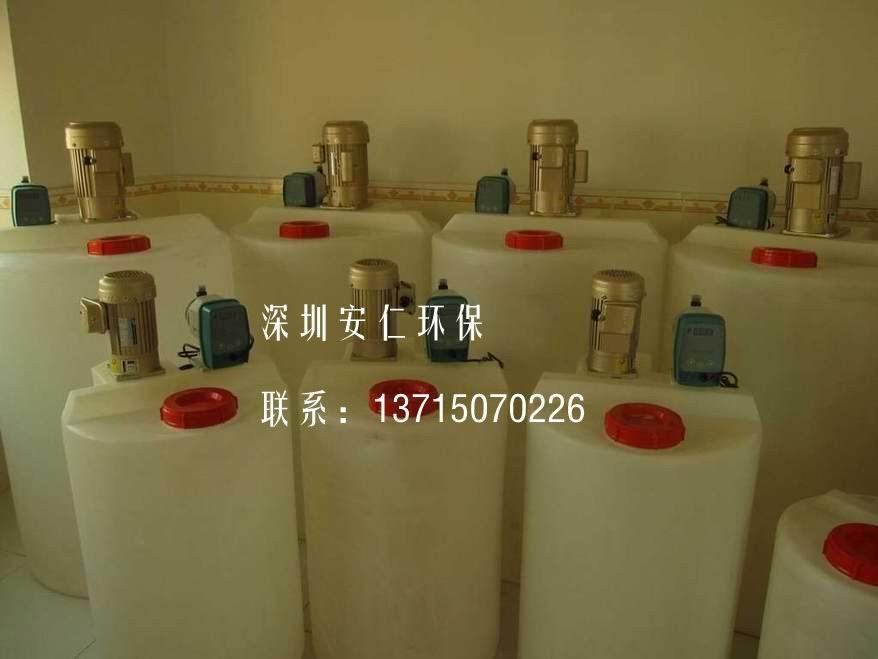 加药设备 硫酸自动加药设备 PH在线控制器 不锈钢搅拌机