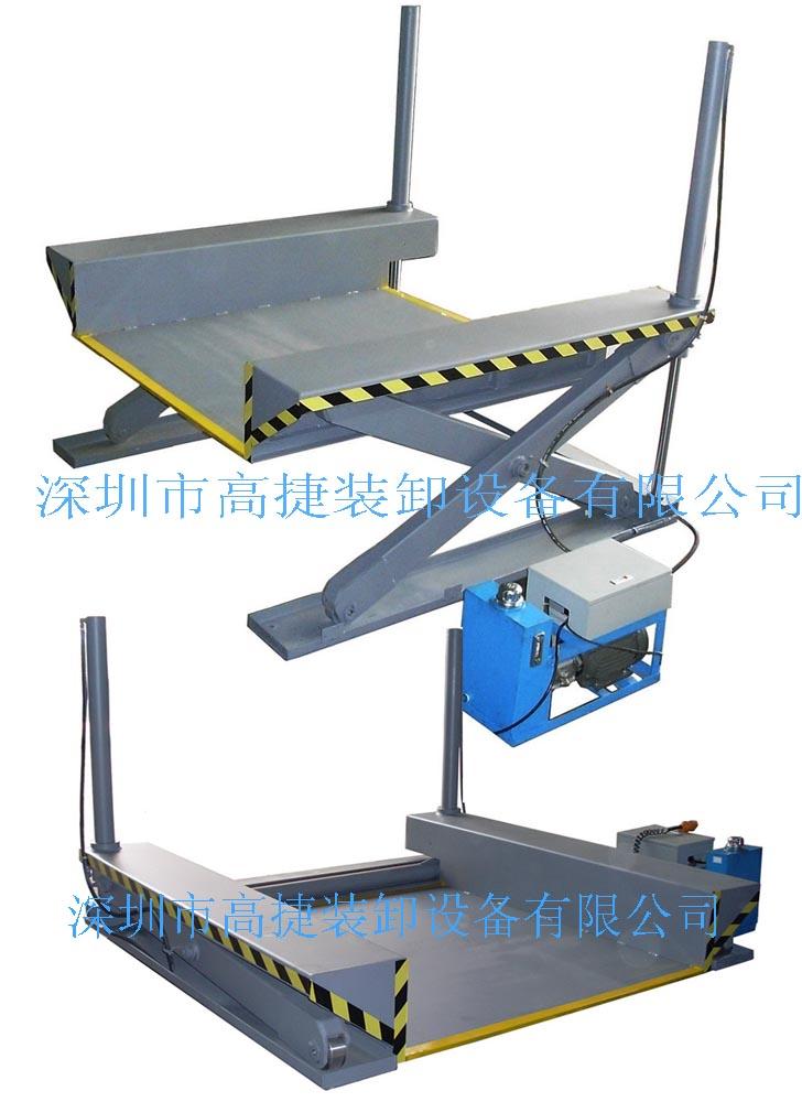 超低型液压升降台,u型升降台图片
