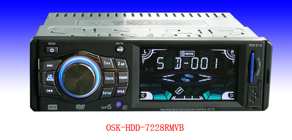 最新车载MP5硬盘播放机120G 车载硬盘播放器 欧视卡