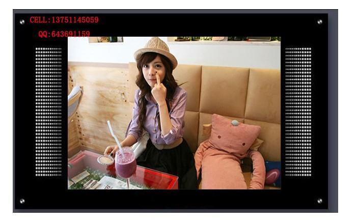 欧视卡品牌 17寸楼宇广告机 17寸CF卡广告机 背挂式楼宇广告