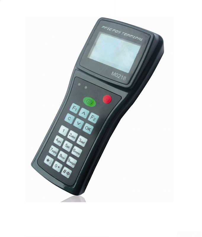RFID手持机IC卡手持终端手持POS机