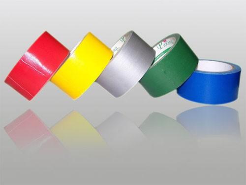 昆山橡胶布基胶带 大连透明地毯胶带 红色,黄色,兰色,蓝色、绿色