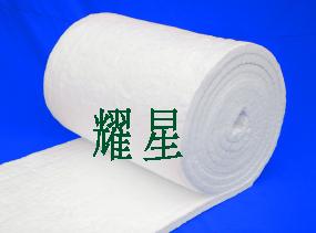 硅酸铝陶瓷纤维毯  耐火纤维毯 陶瓷纤维针刺毯 含锆甩丝纤维毯