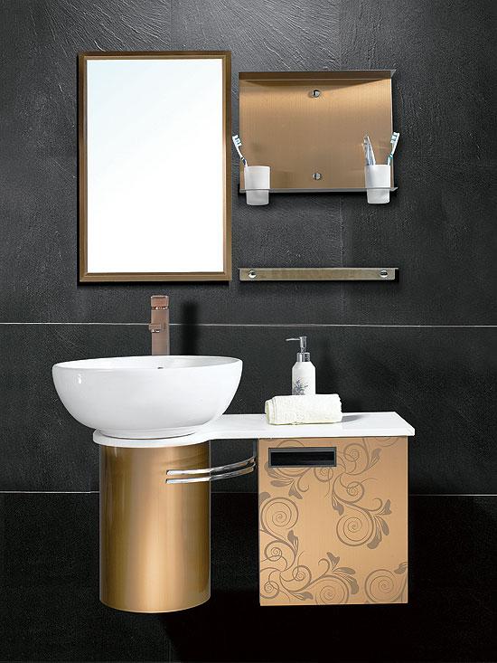 彩色不锈钢卫浴蚀刻板,不锈钢喇叭花蚀刻镀古铜卫浴装饰板