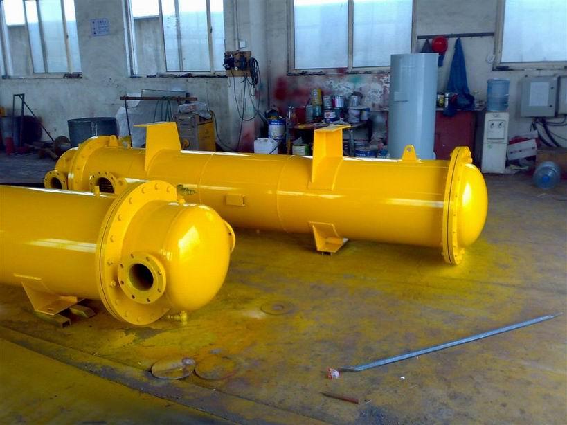 供应锅炉排气冷却器、排汽冷却器厂家,旋膜式除氧器