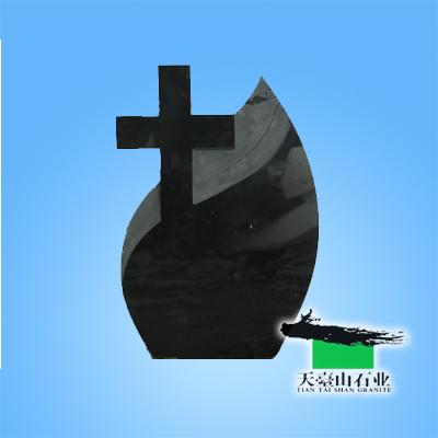 山西黑十字架墓碑