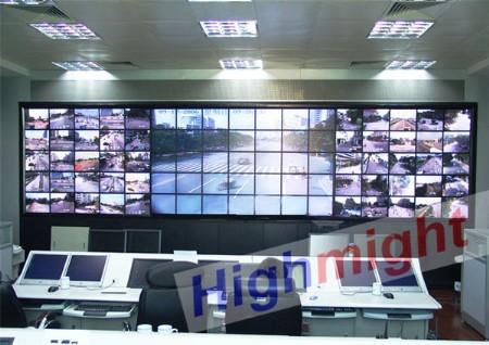 highmgiht超窄边液晶大屏幕@无缝拼接墙@数字拼接墙