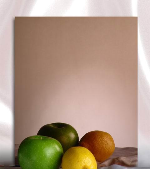 彩色不锈钢玫瑰色镜面板