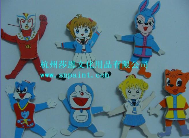 供应彩绘木偶套装