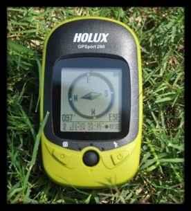 台湾长天HOLUX手持GPS GR260户外运动定位测量多功能