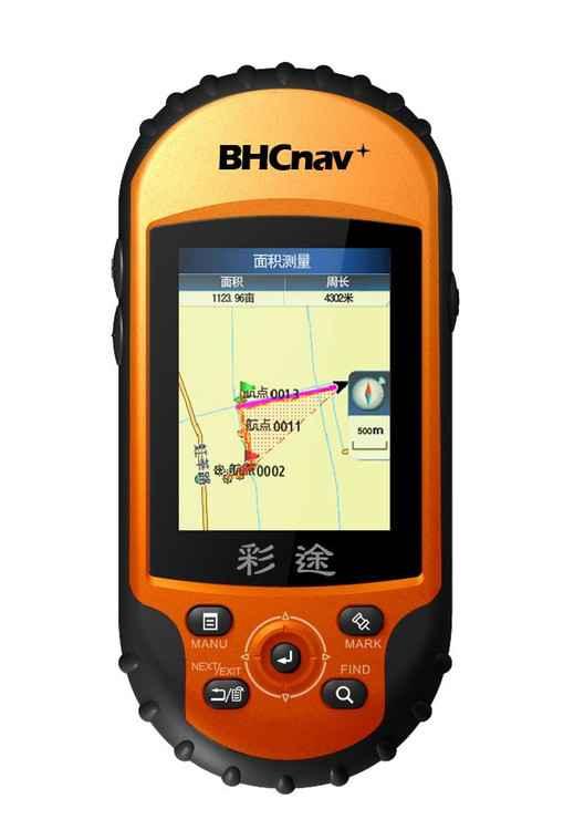 GPS测亩仪彩途N100 彩屏地图导航三防设计