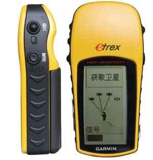 佳明高感小博士eTrexH手持GPS面积测量仪