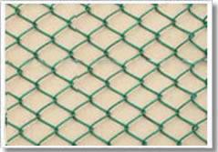 不锈钢勾花网、电镀锌勾花网、PVC勾花网、包塑勾花网