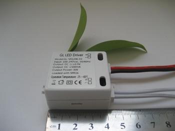 恒压12V 500MA LED电源驱动器 不防水LED电源