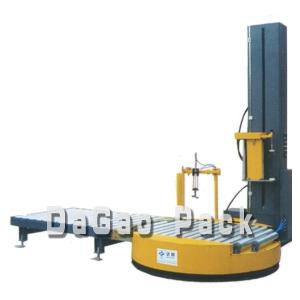 供应DG-2100在线滚筒式缠膜机,裹包机,裹膜机,深圳达高!