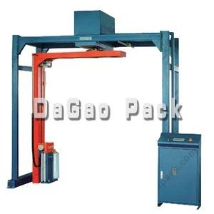 供应DG-2300在线悬臂式缠膜机,拉伸膜缠绕包装机,深圳达高!