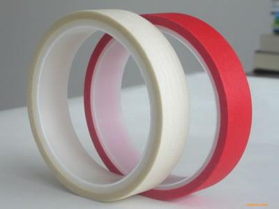 宁波耐高温美纹纸胶带,红白复合美纹纸