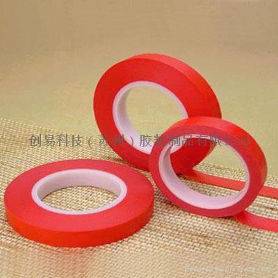 高溫红美纹纸胶带