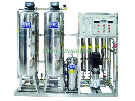 反渗透设备-双级反渗透纯净水处理设备
