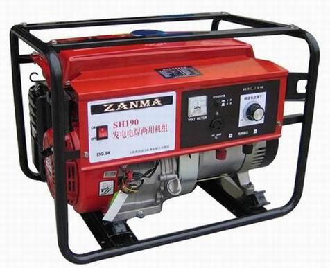 供应汽油机发电电焊两用机组