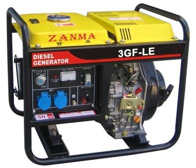 供应3KW风冷柴油发电机组
