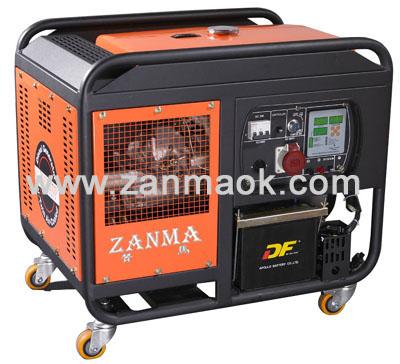 供应10KW风冷双缸柴油发电机组