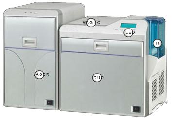第四代证卡打印机