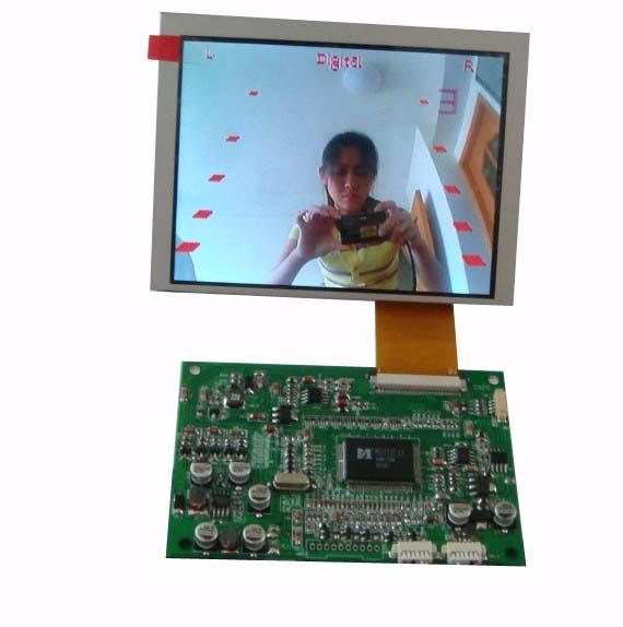 长期供应群创5寸数字液晶屏及AV驱动板