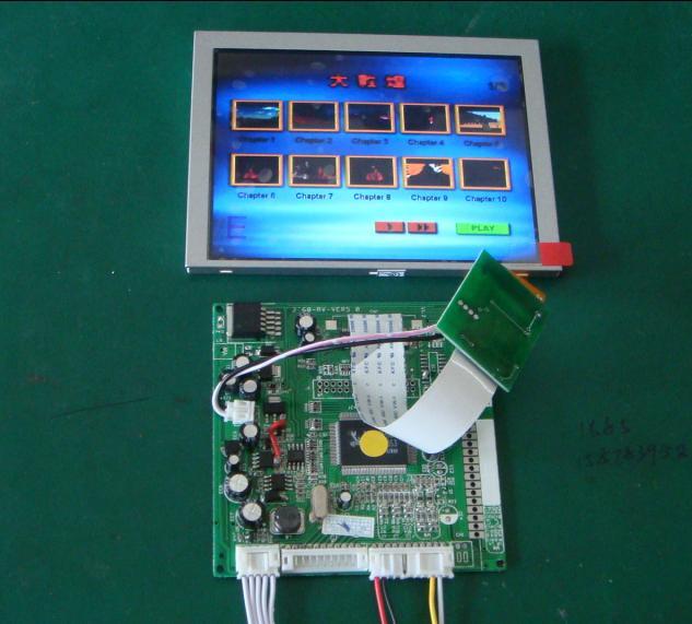 厂家供应群创7寸液晶显示模组