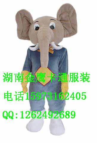 卡通人偶服装泰国象
