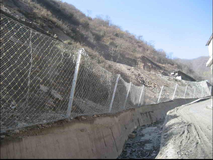 被动边坡防护网-专业山体落石安全防护网