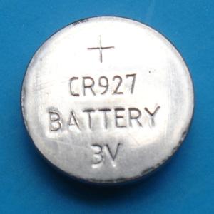 纽扣电池CR927、 童鞋灯电池 玩具电池厂家直销