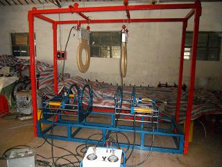 PE无塔供水器专用焊接热熔对接机设备