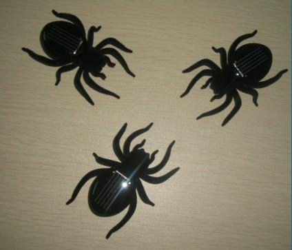 会动的太阳能蜘蛛,昆虫玩具蜘蛛,动物玩具蜘蛛