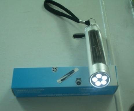 100%节能环保的迷你太阳能手电筒,礼品手电筒