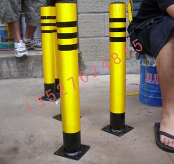 镀锌管防撞柱,深雅固定式、活动式防护桩,安全桩