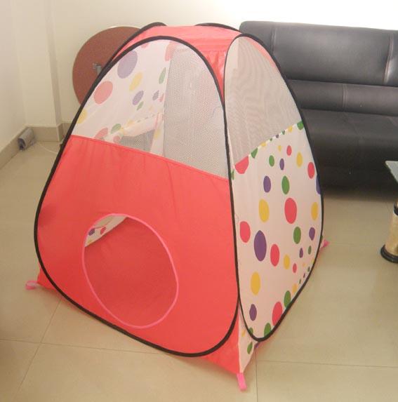 红点温馨小屋儿童帐篷